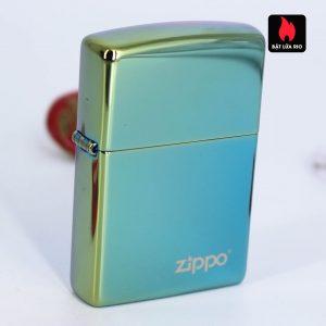 Zippo 49191ZL - Zippo High Polish Teal Zippo Logo 1