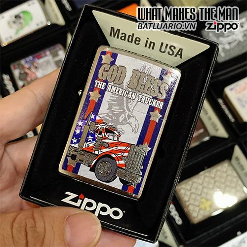 Zippo 200 God Bless American Truckers