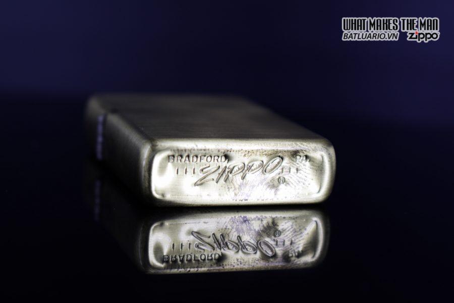 HIẾM – Đồng Nguyên Khối – Zippo Xưa 1968 2