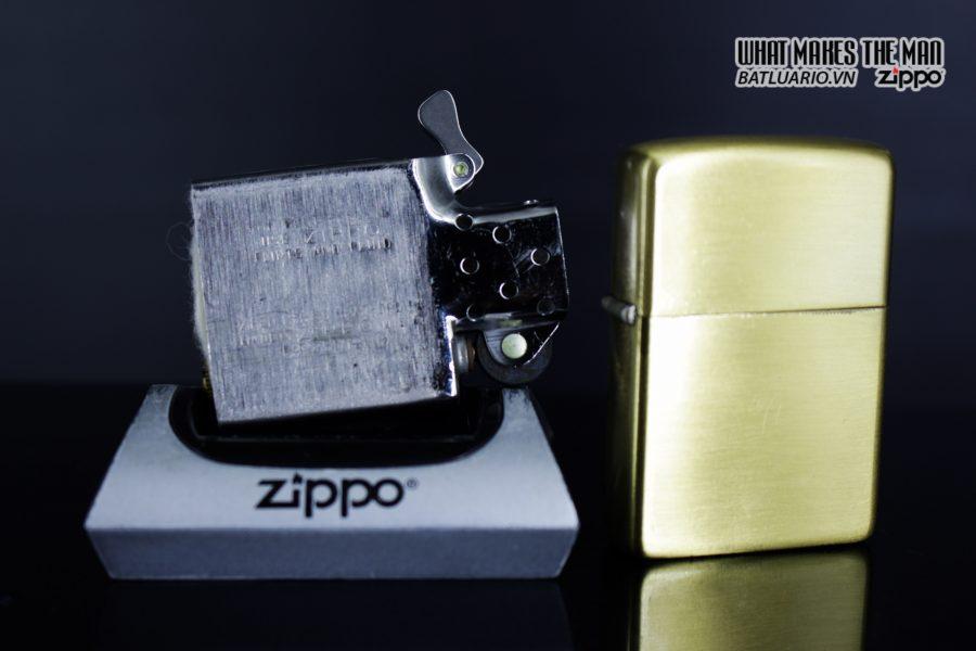 HIẾM – Đồng Nguyên Khối – Zippo Xưa 1968 6