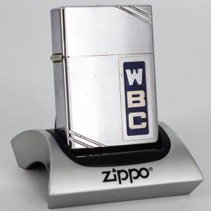 HIẾM – Zippo Xưa 1936 Metallique – W.B.C – Bản Lề 4 Chấu – Ruột Pitton 14 Lỗ