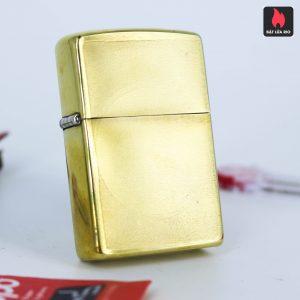 Hiếm – Zippo Xưa 1977 – Solid Brass - Đồng Nguyên Khối