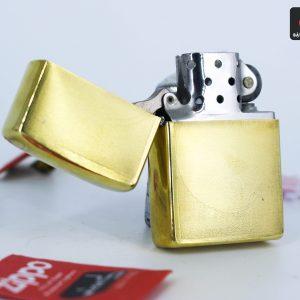 Hiếm – Zippo Xưa 1977 – Solid Brass - Đồng Nguyên Khối 4