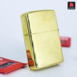 Hiếm – Zippo Xưa 1977 – Solid Brass – Đồng Nguyên Khối - High Polished 6