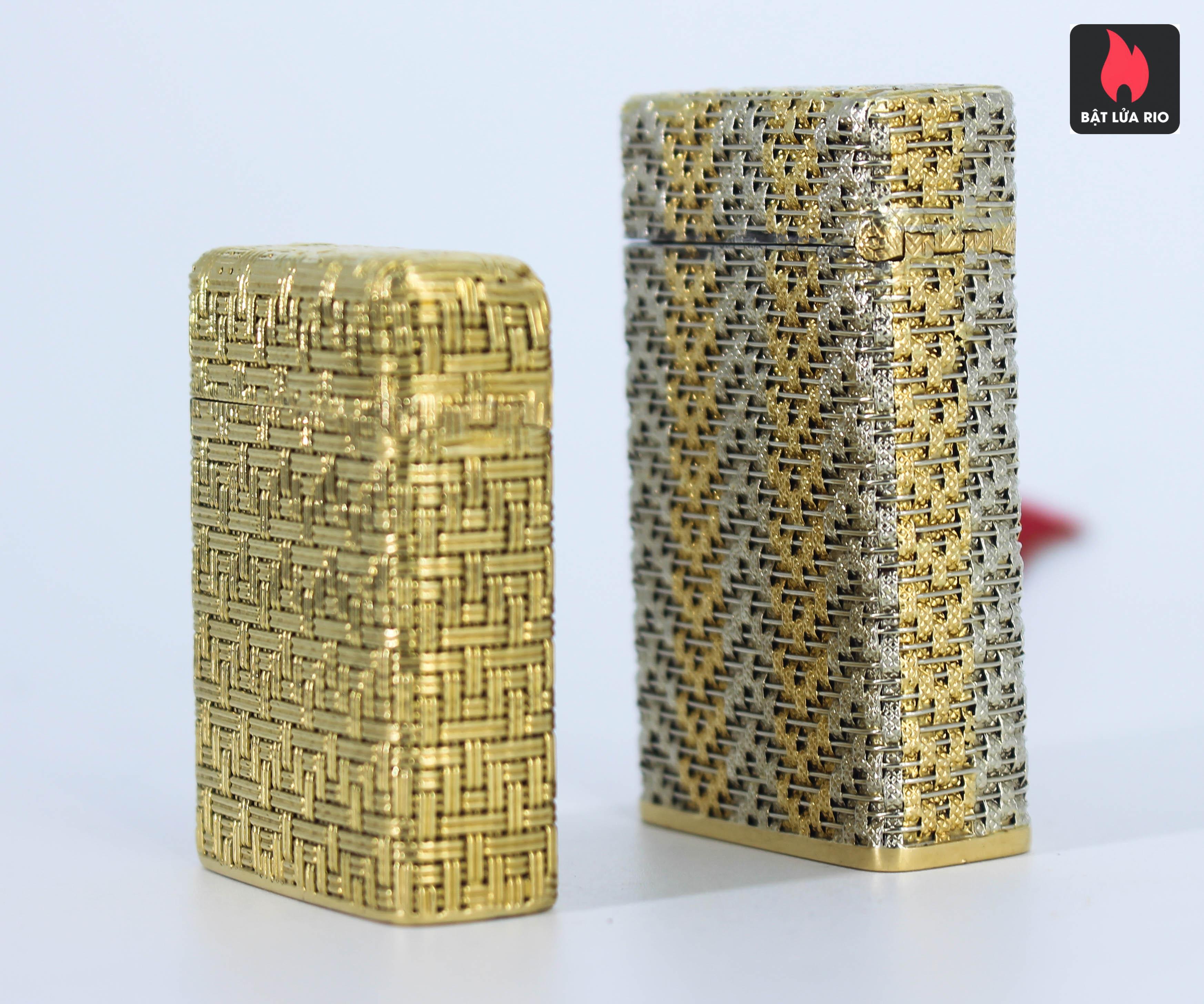 S.T Dupont Form Lùn - Áo Vàng - Vân Caro Sang Chảnh 11