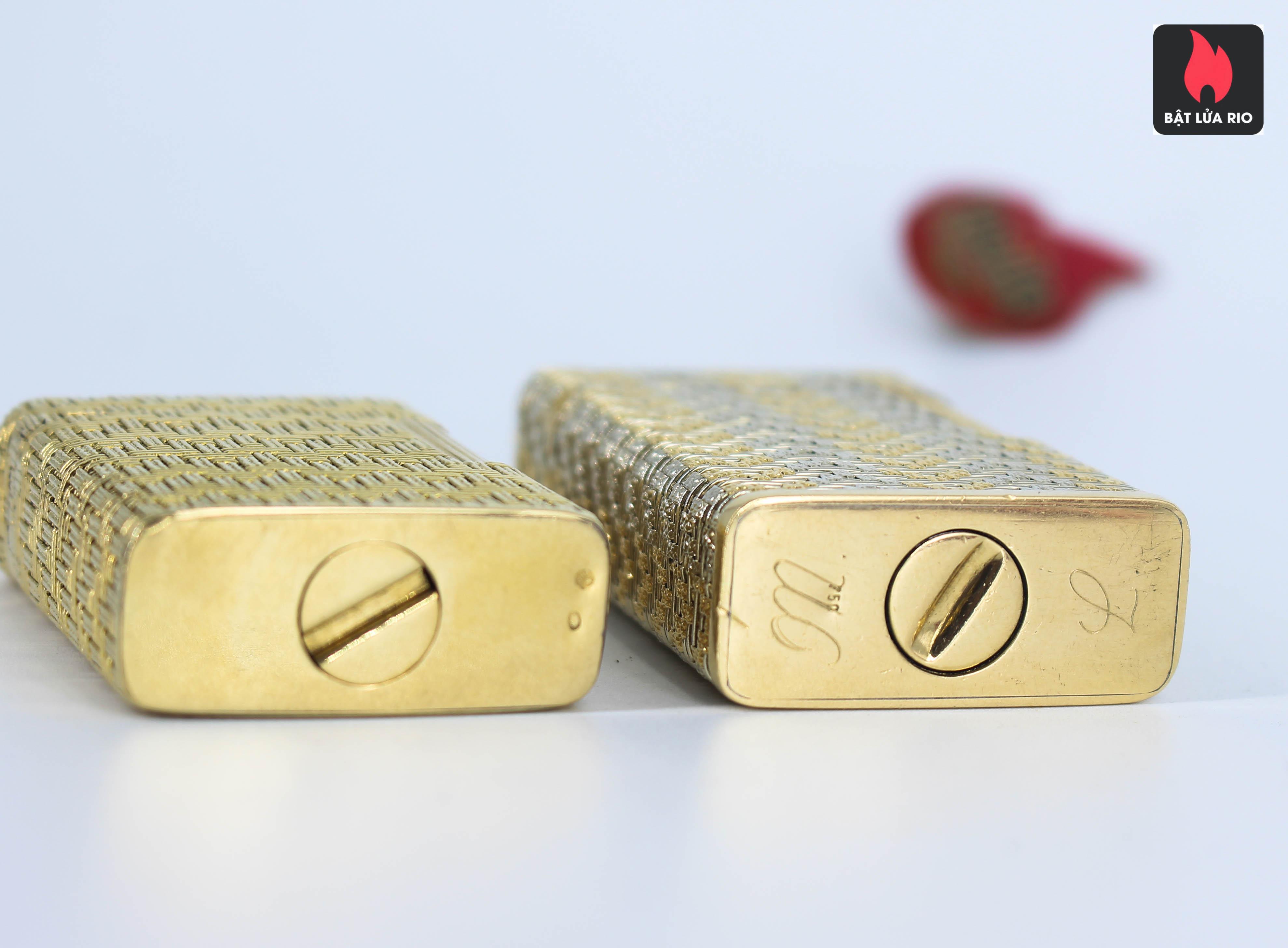 S.T Dupont Line 1 - Form Cao – Áo Vàng – Vân Caro Sang Chảnh 12