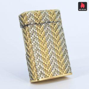 S.T Dupont Line 1 - Form Cao – Áo Vàng – Vân Caro Sang Chảnh