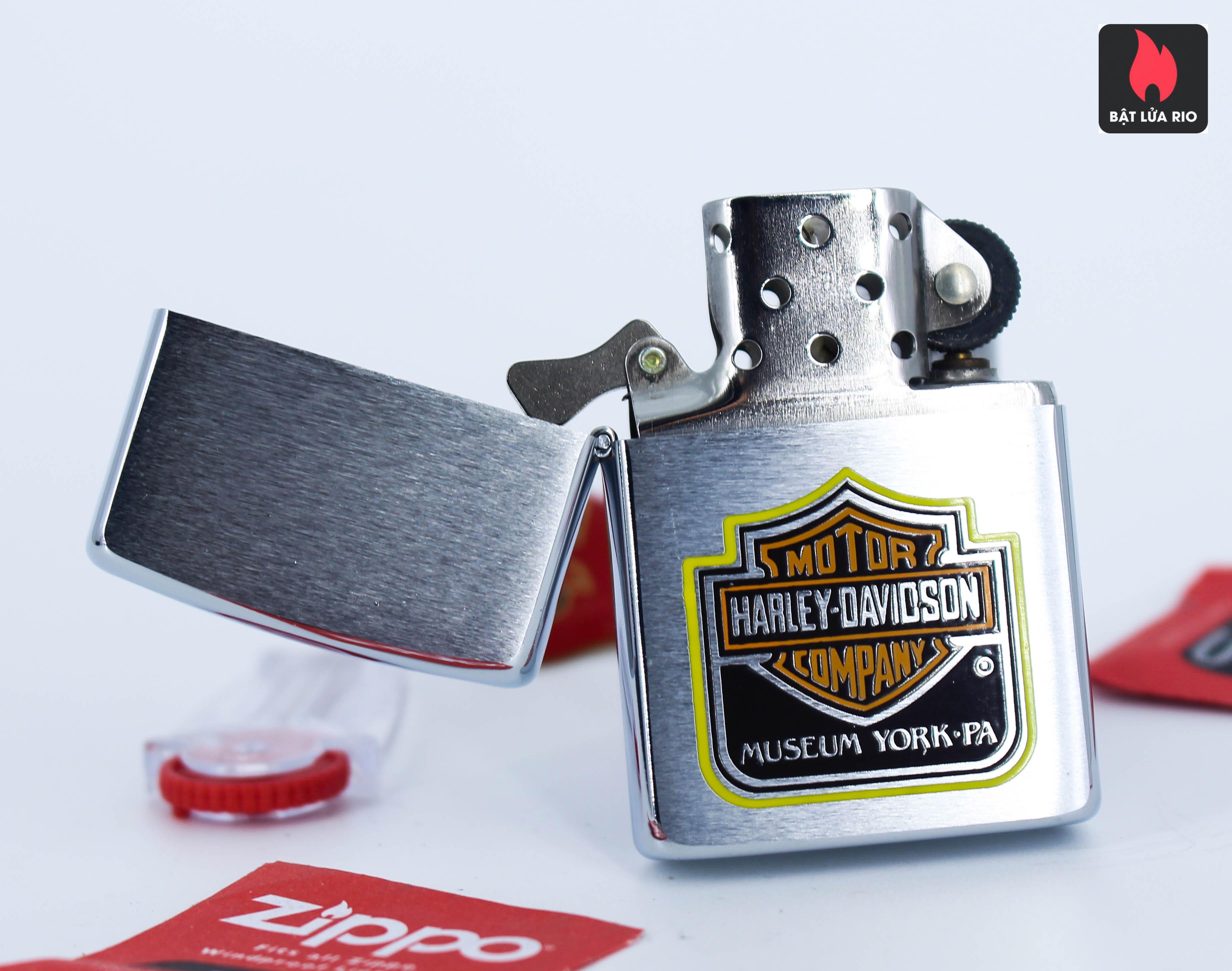 Zippo 1982 - Harley Davidson® – Museum York Pa 3
