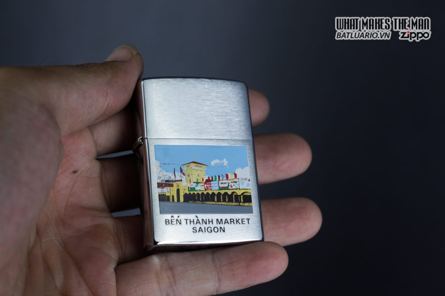 Zippo 2001 - Bến Thành Market - Sai Gon 3