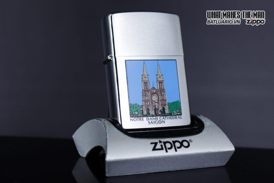 Zippo 2001 - Notre Dame Cathedral Saigon