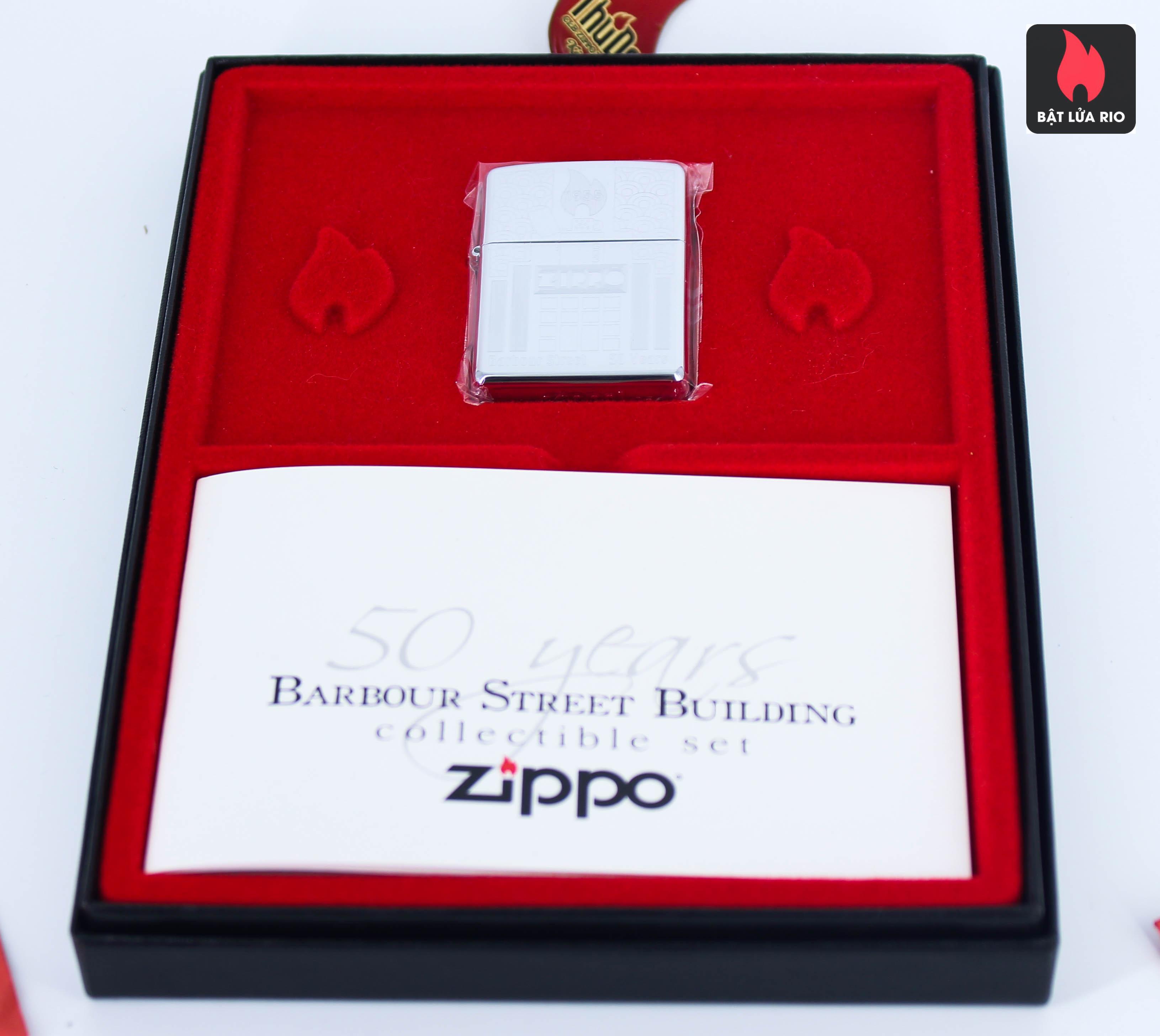 Zippo 2005 - 50 Years Barnour Street Building