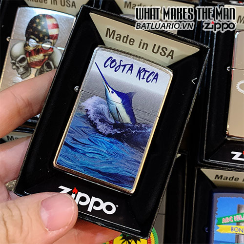 ZIPPO 207 COSTA RICA MARLIN