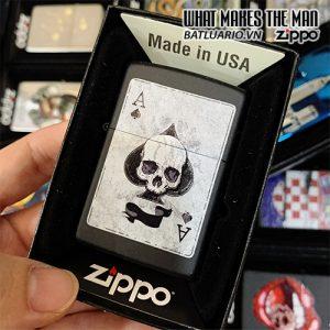 Zippo 218 Ace Of Spades Skull