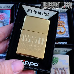 Zippo 254B WWII Museum New Orleans