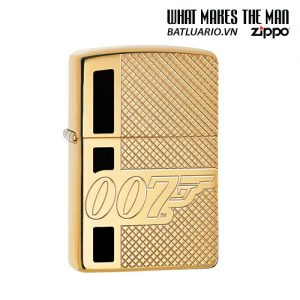 Zippo 29860 - Zippo Armor® James Bond 007™ High Polish Brass