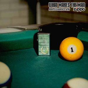 Zippo 49123 - Zippo Slim® Horseshoe Design Street Chrome 1
