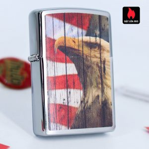 Zippo 49133 - Zippo Patriotic Eagle Brushed Chrome 2