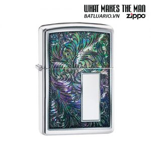 Zippo 49139 - Zippo Colorful Venetian Design High Polish Chrome