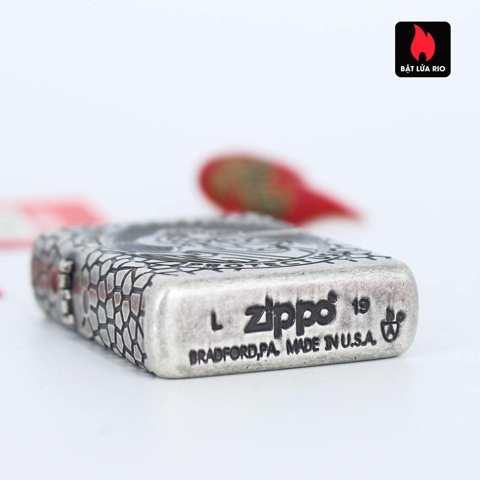 Zippo 49160 - Zippo Armor® St. Christopher Medal Design Antique Silver 9