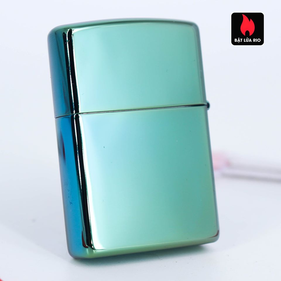 Zippo 49161 - Zippo Follow Your Way Design High Polish Green 5