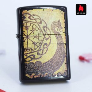 Zippo 49182 - Zippo Viking Warship Design Brown 1