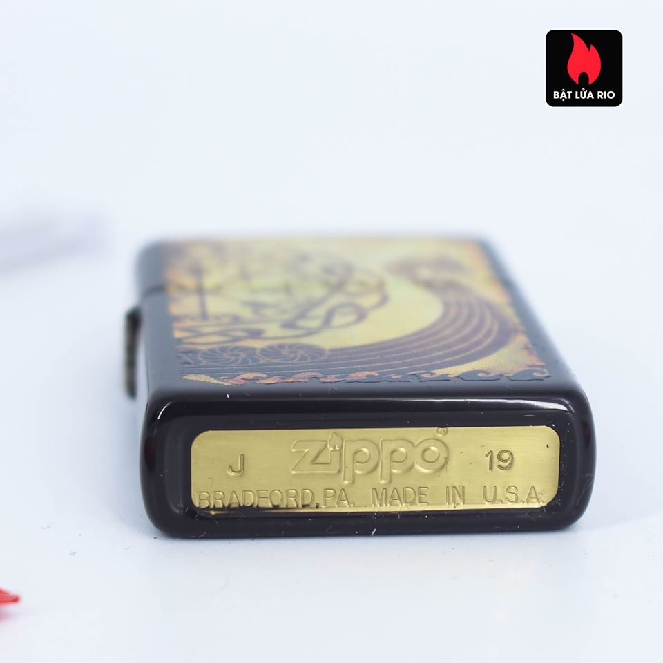 Zippo 49182 - Zippo Viking Warship Design Brown 4