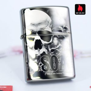 Zippo 49192 - Zippo Sons of Anarchy™ 360° Skulls Black Ice 2