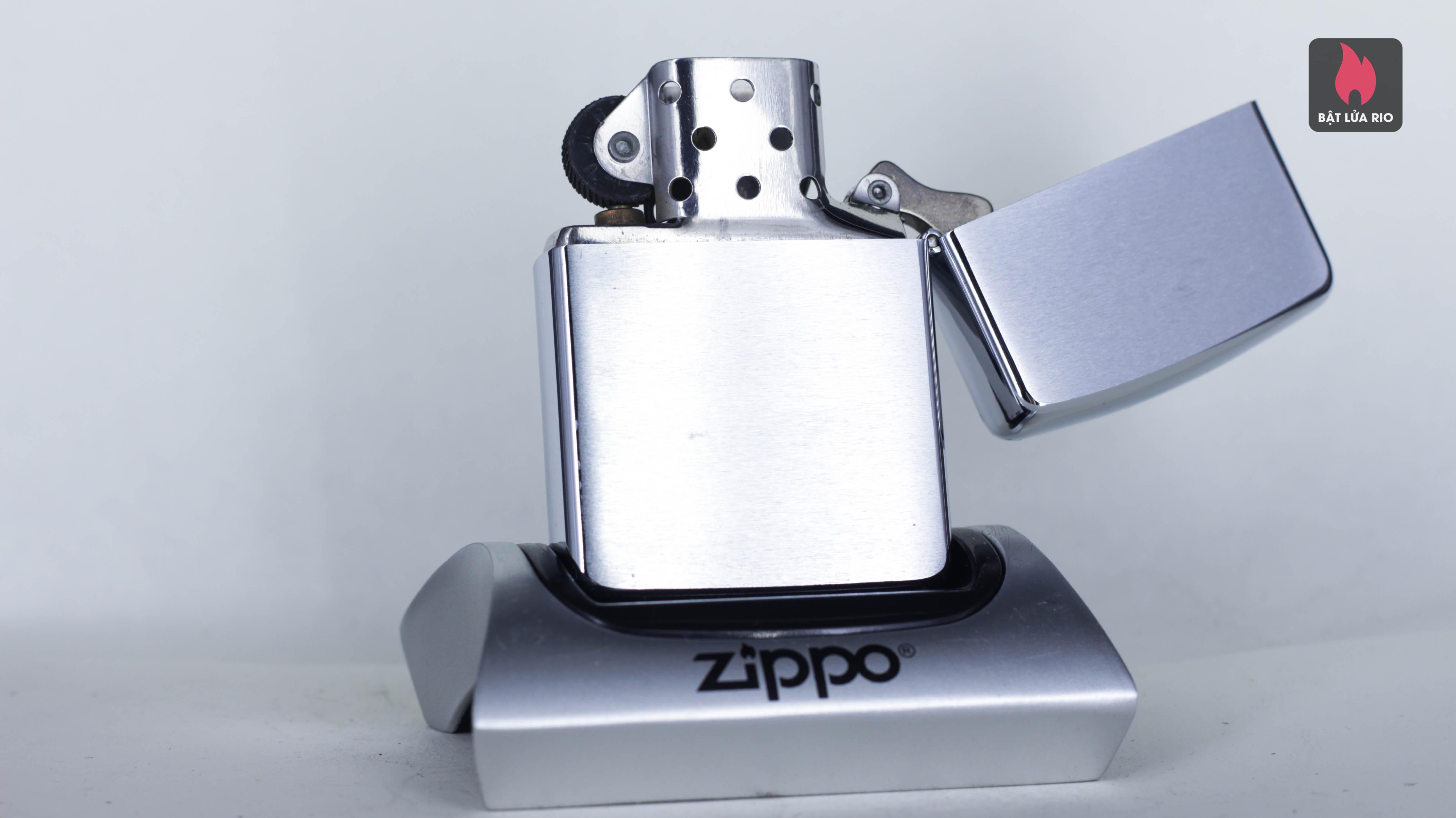 Zippo La Mã 1990 - Zippo Logo 6