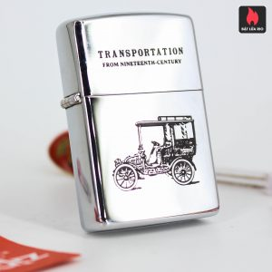 Zippo La Mã 1992 - Transportation