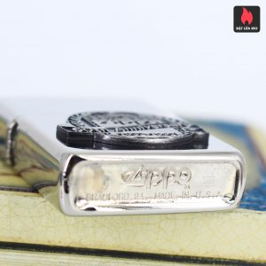 Zippo La Mã 1992 - White Nickel Finish - 60TH Anniversary 1