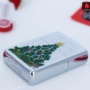 Zippo La Mã 1994 – Christmas Tree High Polish Chrome 1