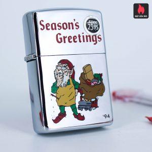 Zippo La Mã 1994 – Season's Greetings – Merry Chistmas