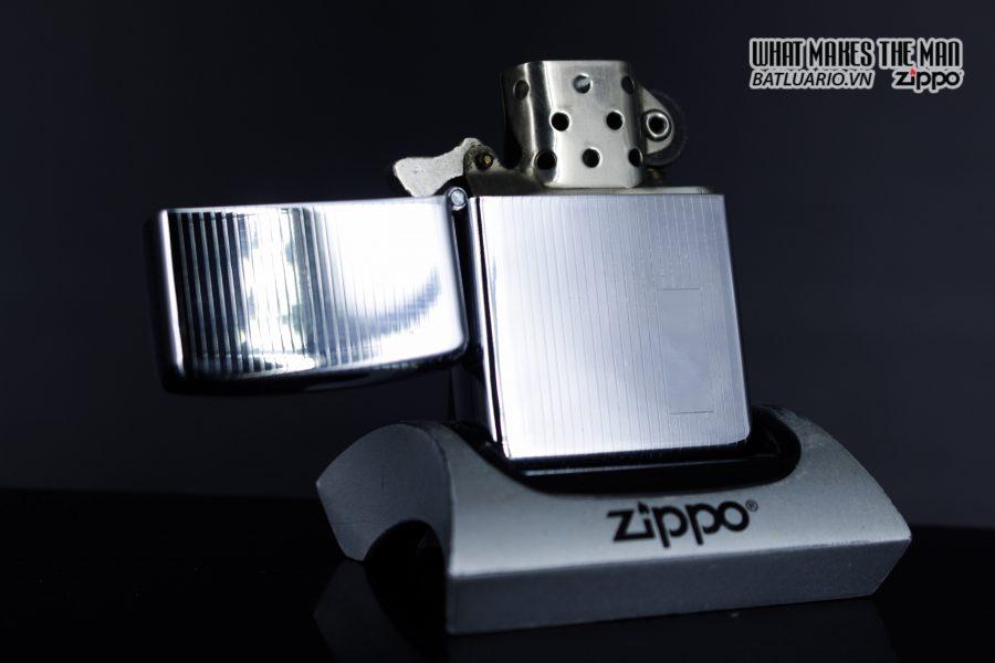 Zippo Xưa 1947 – 1949 – Engine Turned - 3 Chấu 10
