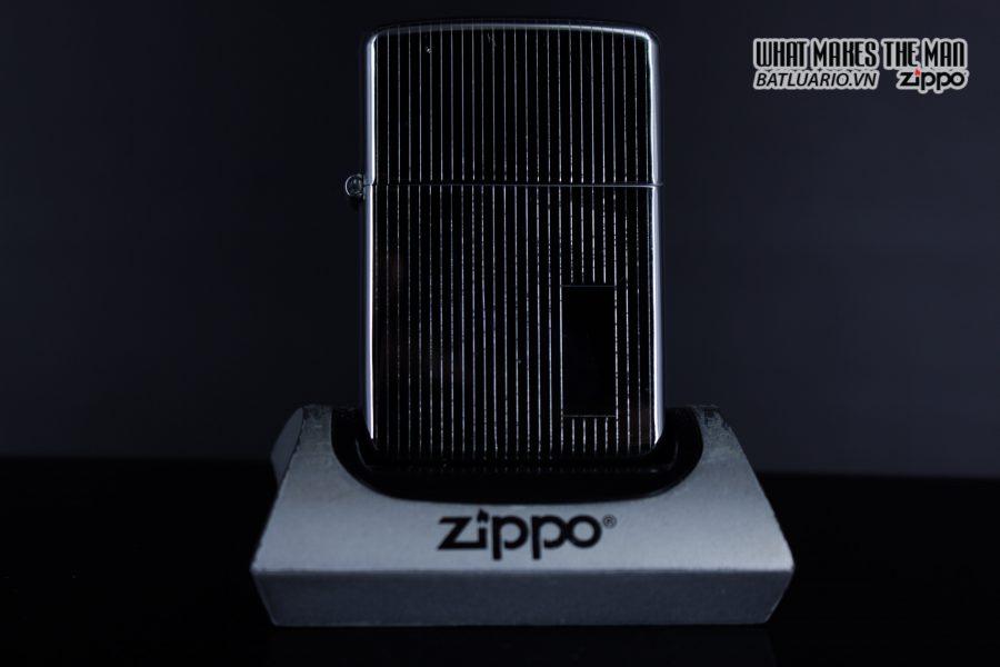 Zippo Xưa 1947 – 1949 – Engine Turned - 3 Chấu 12