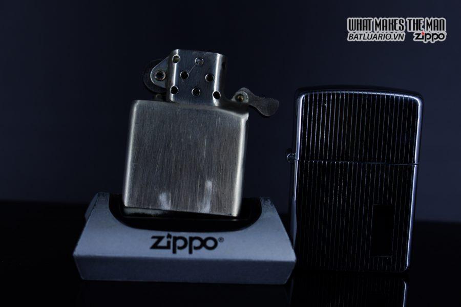 Zippo Xưa 1947 – 1949 – Engine Turned - 3 Chấu 4