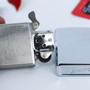 Zippo Xưa 1975 – 1776 Bicentennial – Kỷ Niệm 200 Năm Hoa Kỳ - Brushed Chrome 1