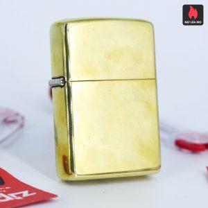 Zippo Xưa 1980 – Solid Brass – Đồng Nguyên Khối - High Polished