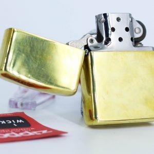 Zippo Xưa 1980 – Solid Brass – Đồng Nguyên Khối - High Polished 5