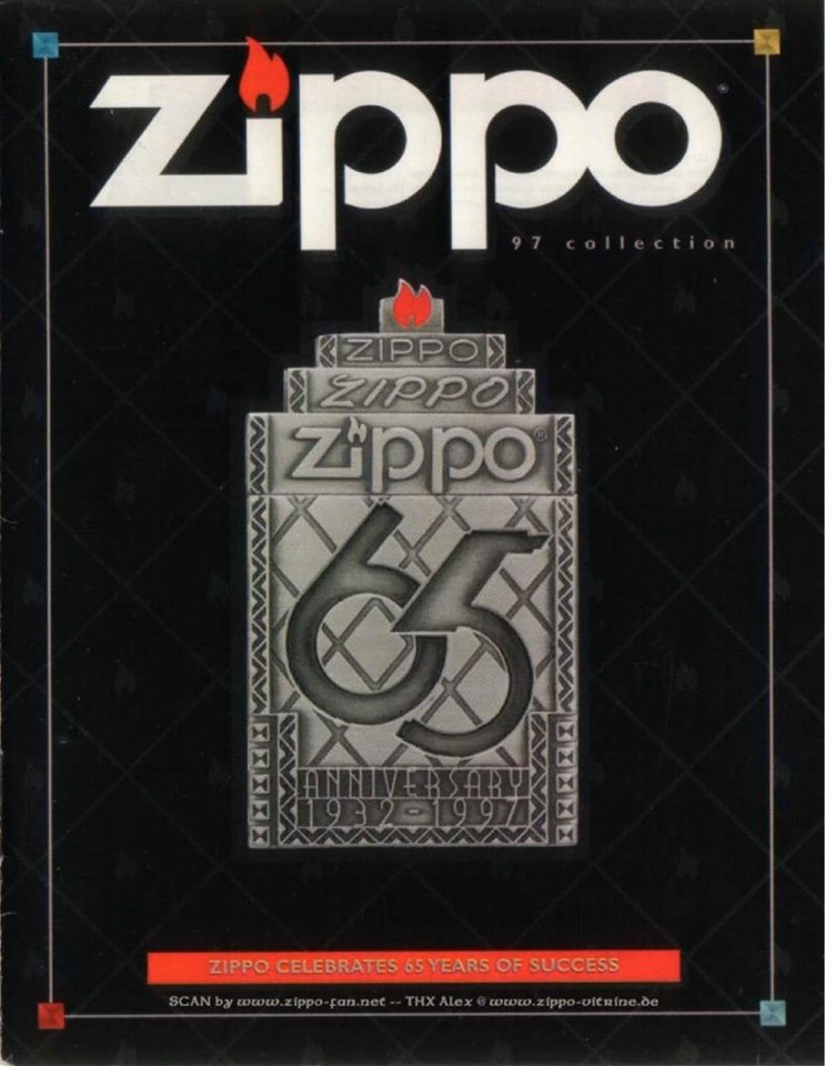 Zippo 1997 Complete Line Collection US