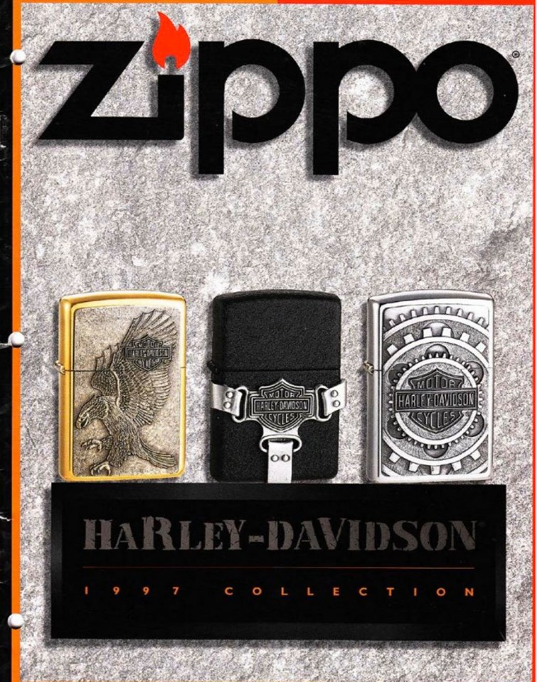 Zippo 1997 Harley Davidson Collection US