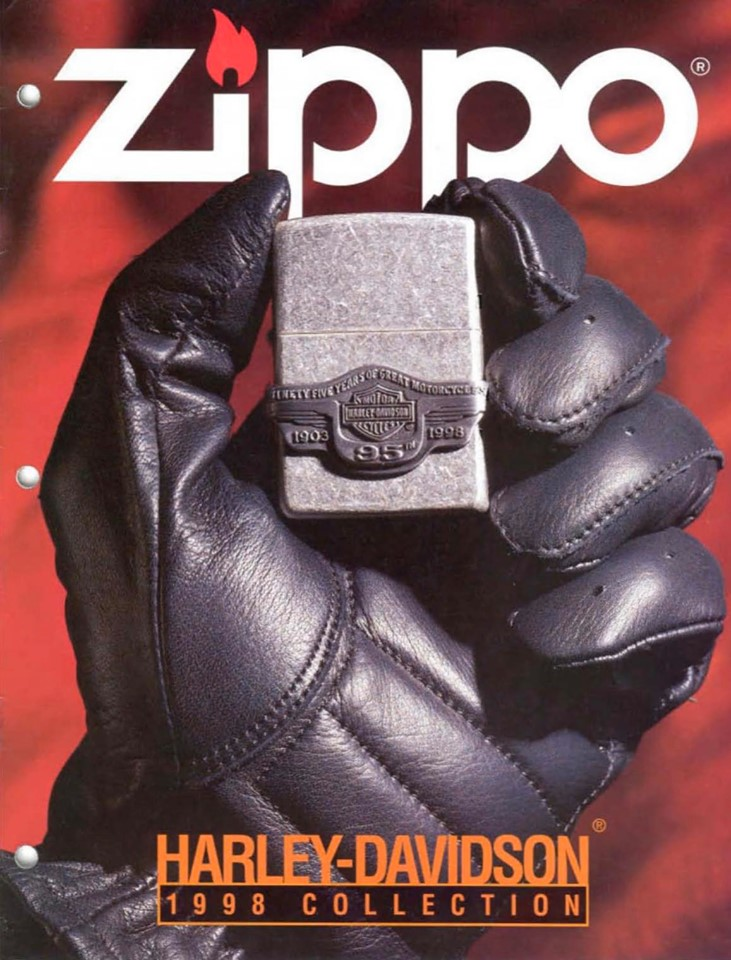 Zippo 1998 Harley Davidson Collection US
