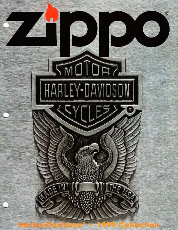 Zippo 1999 Harley Davidson Collection US