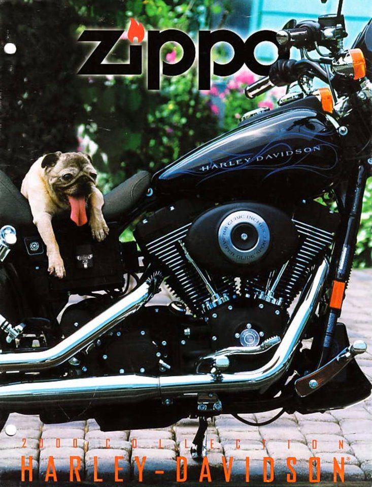 Zippo 2000 Harley Davidson Collection US