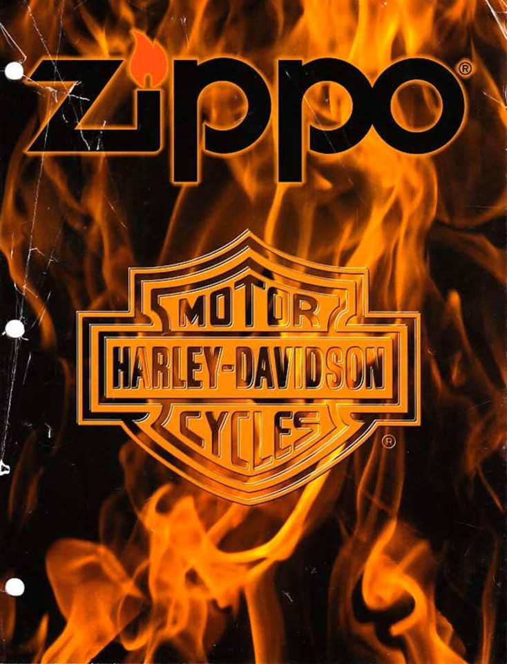 Zippo 2001 Harley Davidson Collection US