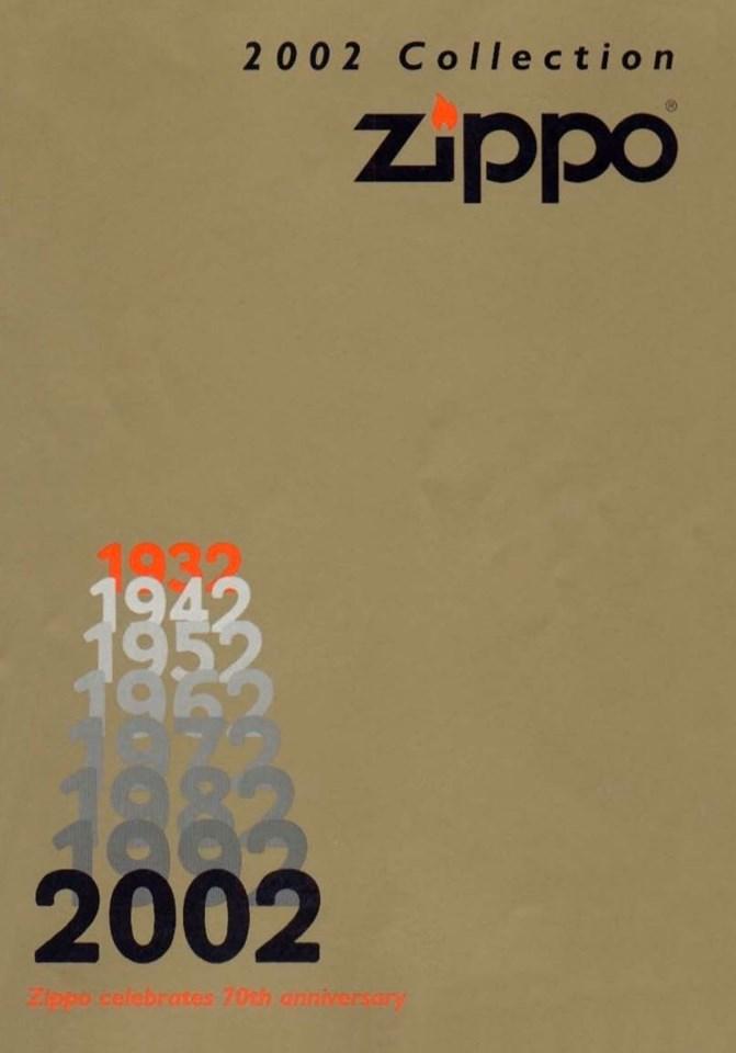 Zippo 2002 Complete Collection DE