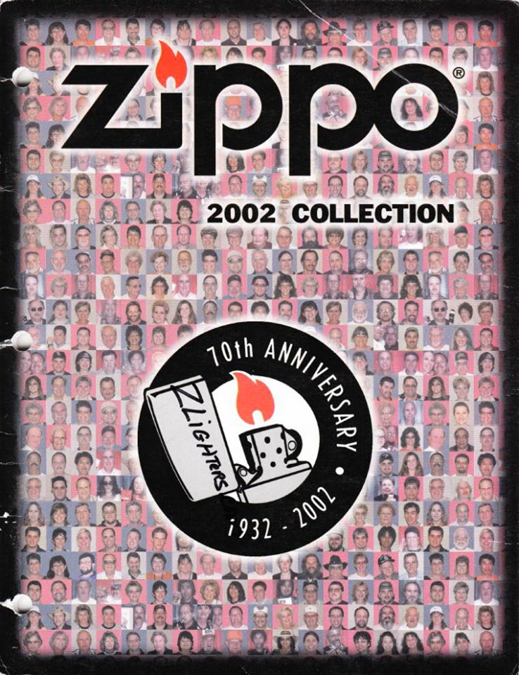 Zippo 2002 Complete Line Collection US