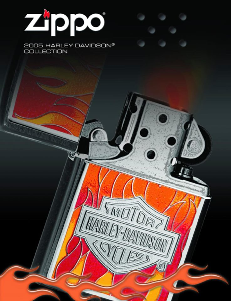 Zippo 2005 Harley Davidson Collection US