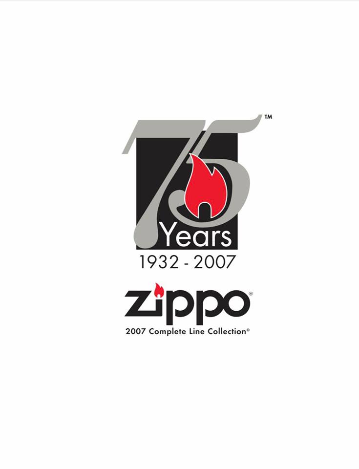 Zippo 2007 Complete Line Collection US