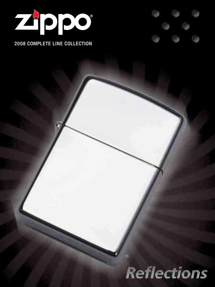 Zippo 2008 Complete Line Collection US