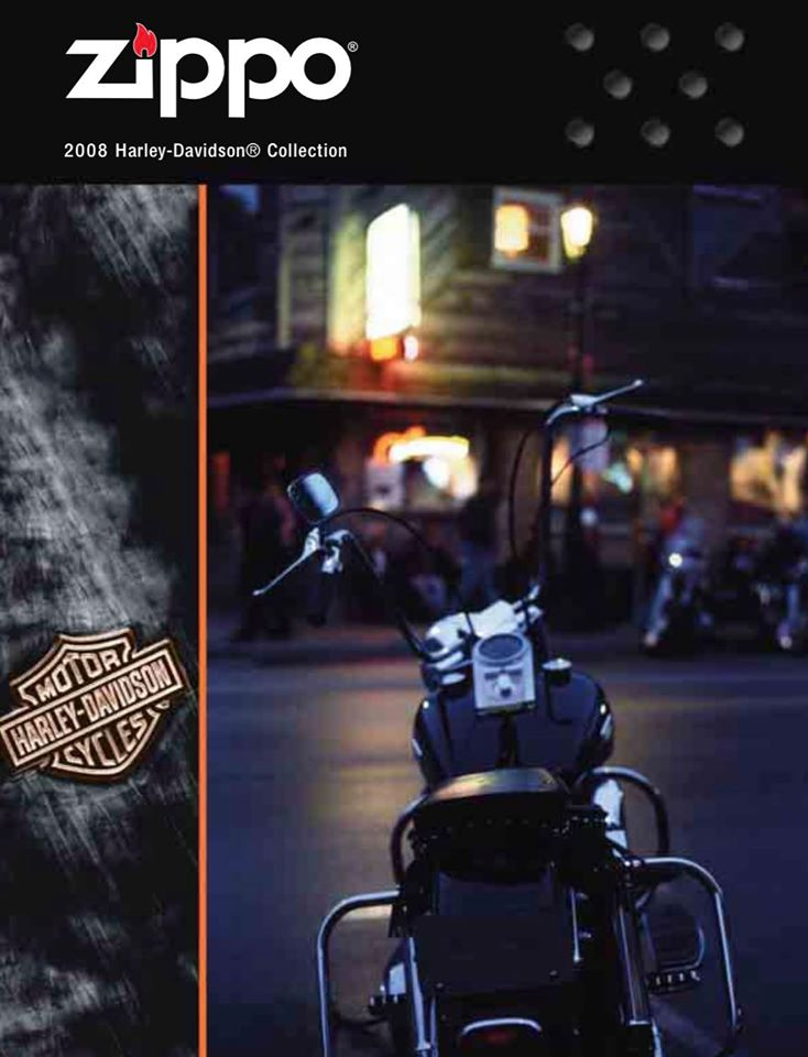Zippo 2008 Harley Davidson Collection US
